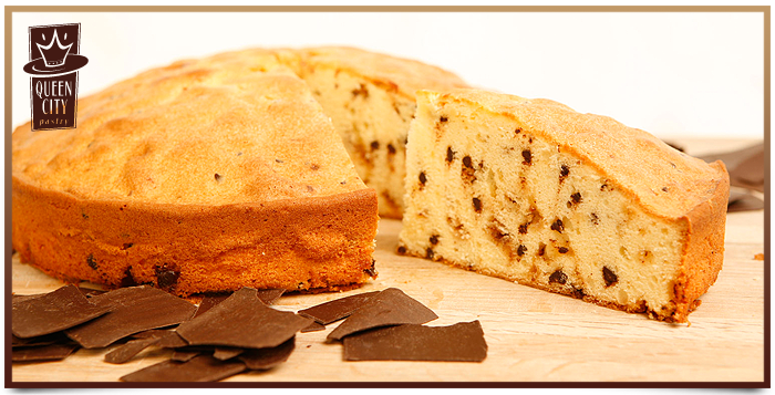 Chocolate Chip Toffee Coffee Cake