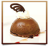 Chocolate Truffle Dome - No Decoration