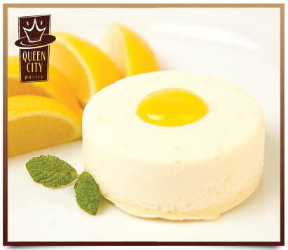 Lemon Cheesecake Puck