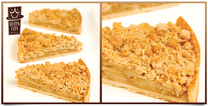 Roasted Apple Crumb Tart